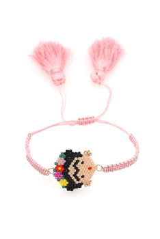 Frida  Seed Beads Braided Bracelets B2316