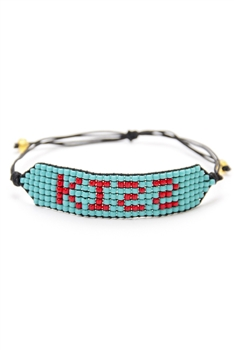 KISS Seed Bead Braided Bracelets B2577