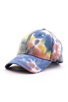 Tie-dye Multi-color Cap C0034 - Multi