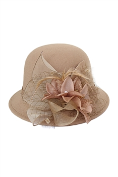 Dome Woolen Hat  C0082 - Champagne