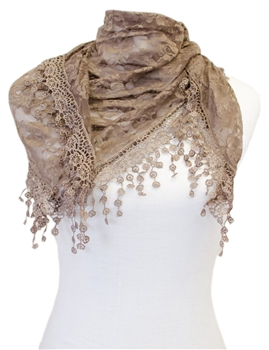 Scarf CH01 - Brown