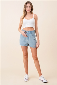 Hole Short Jeans DN0014