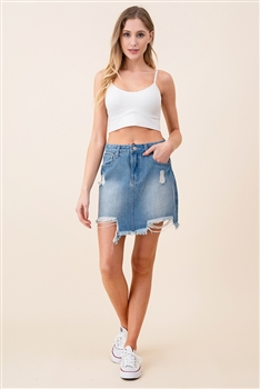 Denim Short Skirt DN0018