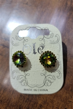 Crystal Stud Earrings E0002 - NO.3