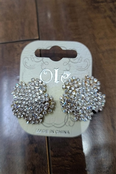 Crystal Stud Earrings E0002 - NO.5