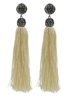 Tassels Cotton Crystal Metal E2049 - Champagne