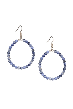 Stone Drop Earrings E2098 - Sodo Lite
