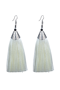 Fashion Bohemian Women Silk Tassel Drop Earrings E2121