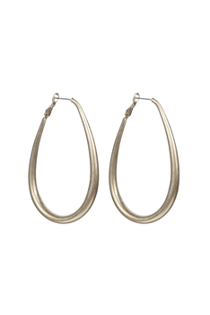 Fashion Women Hoops Metal Statement Earrings E2155