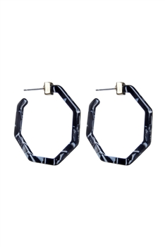 Special Design Women Tortoiseshell Statement Earrings E2161