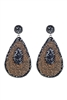 Teardrop Rhinestone Earrings E2248