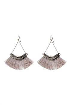 Bohemian Tassel Drop Earrings E2298 - Champ