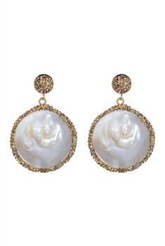 Mother of Pearl Earrings E2309