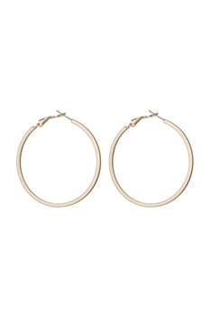 Simply Fashion Hoop Earrings E2490