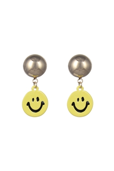 Lovely Smiley face Earrings E2514