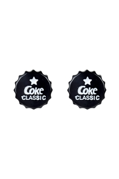 Classic Coke Cap stud Earrings E2516