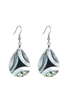 Teardrop Mother of Pearl Earrings E2569