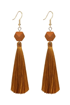 Ethnic Bohemian Tassel Drop Earrings E2819