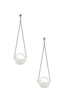 Pearl Dangle Earrings E3068
