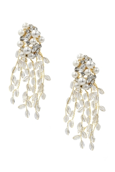 Pearl Tassel Earrings E3109