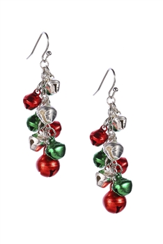 Christmas Bell Alloy Earrings E3304