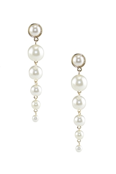 Pearl Chains Tassel Earrings E3453