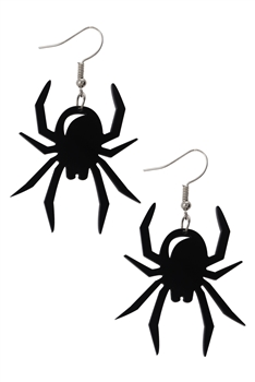 Spider Acrylic Earrings E4030