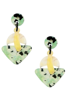 Geometry Acrylic Earrings E4123