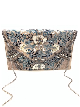 Le Freesia Beaded Clutch EXW-PIC-010