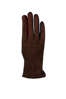 Leather Gloves GL136 - Brown