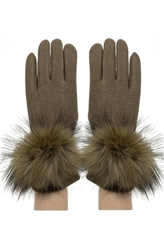Touch Screen Glove GL149 - Brown