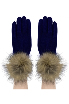 Touch Screen Glove GL149 - Navy