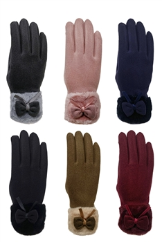 Bow Touch Screen Glove GL153