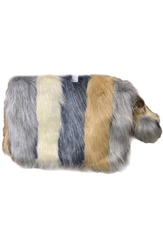 Faux Fur Crossbody  HB0005