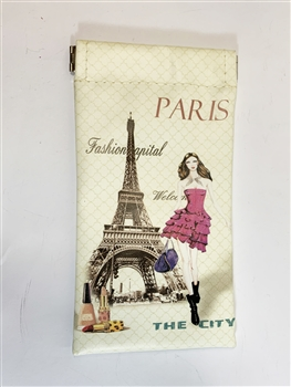 Eiffel Tower Glasses Pouch HB0025