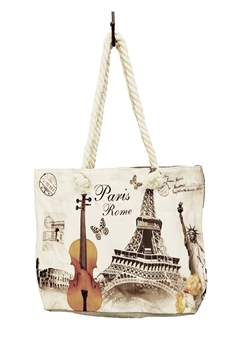 Eiffel Tower Tote Bags HB0040
