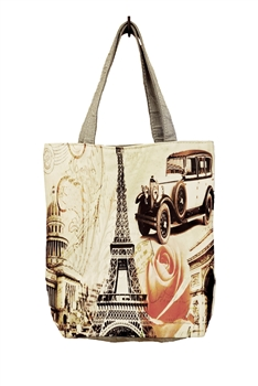 Eiffel Tower Tote Bags HB0040 - NO.2
