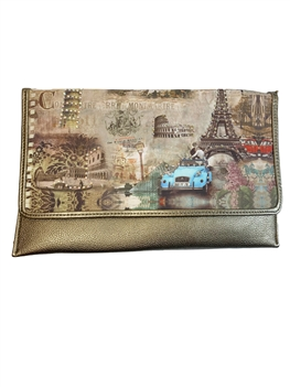 Eiffel Tower Tote Bags HB0060