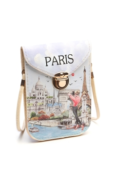 Fashion Paris Pattern Cellphone Pouches HB0104 - NO.5