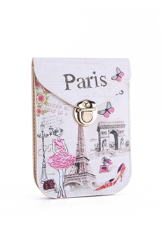 Fashion Paris Pattern Cellphone Pouches HB0104 - NO.6
