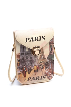 Fashion Paris Pattern Cellphone Pouches HB0104 - No.3