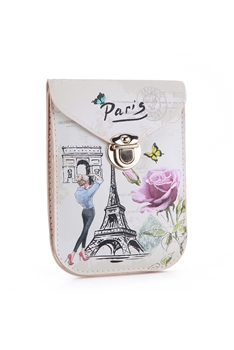 Fashion Paris Pattern Cellphone Pouches HB0104 - No.7