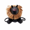 Cartoon Lion Leatherette  Backpack HB0190