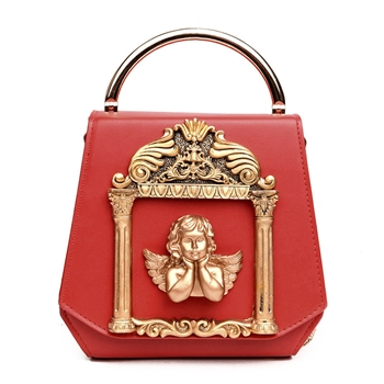 Baroque Angel Handbags Leatherette Shoulder Bag HB0290