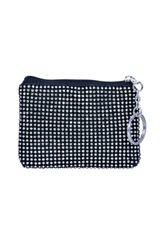 Crystal Shiny Coin Purse HB0344 - Black