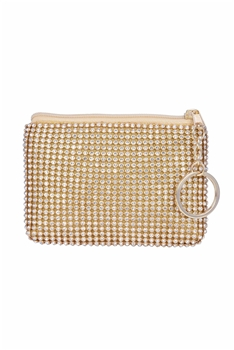 Crystal Shiny Coin Purse HB0344 - Gold