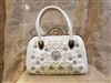 Crystal Leatherette Handbags HB0471