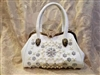 Crystal Leatherette Handbags HB0472