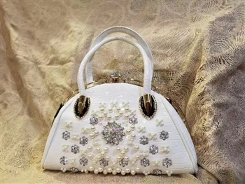 Crystal Plastic Handbags HB0474