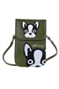 Fashion Creative Dog PU Leather Lady Cross Body Bags HB0609